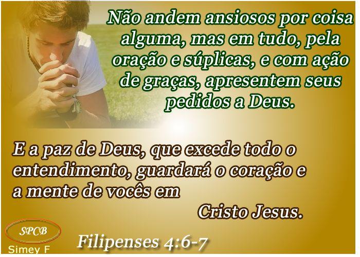 Salmos - Proverbios e passagens da Bíblia: Exortações (Filipenses 4:4-9)