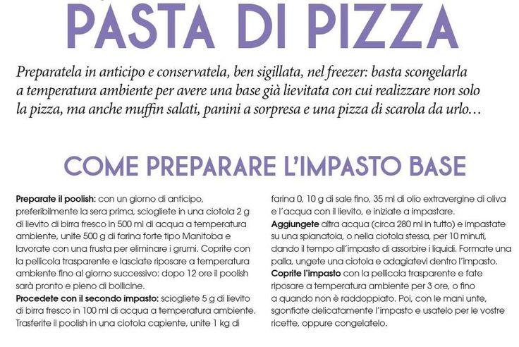 Polish impasto base pizza
