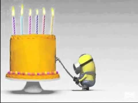 Happy BirthDay Minions - YouTube