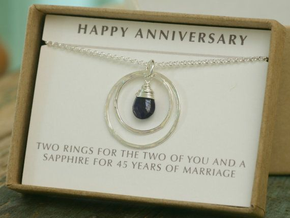 Gifts For 45th Wedding Anniversary: 1000+ Ideas About Anniversary Gift For Her On Pinterest
