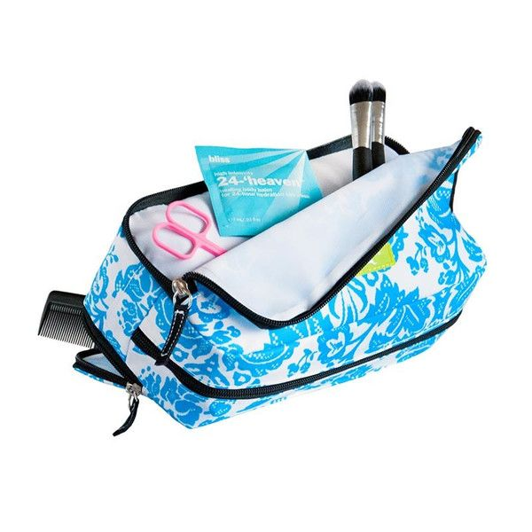 Bag (three weh bag) n. Behold, the ménage a toiletries. Features three  cleverly placed compartments for concealment and transport of your  unmentiona