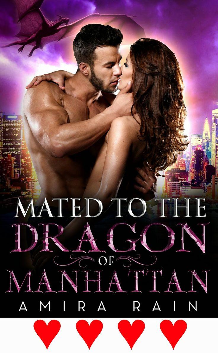 Romance Book Scene: Romance Book Review: Amira Rain's Mated To The Dra