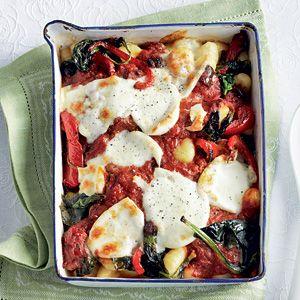 Recept - Gnocchigratin met spinazie - Allerhande
