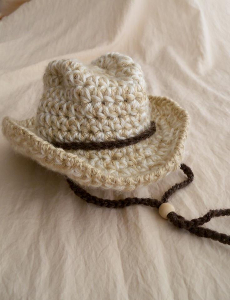 NEW YEAR SALE - Save 13% - Cowboy Hat -Baby Cowboy Hat - Fedora Hat - Safari Hat -Versatile Baby Hat - Bowler Hat -by JoJosBootique. $23.00, via Etsy.