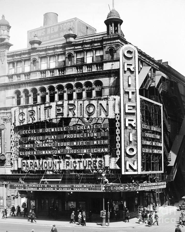 Criterion Theatre, 1920