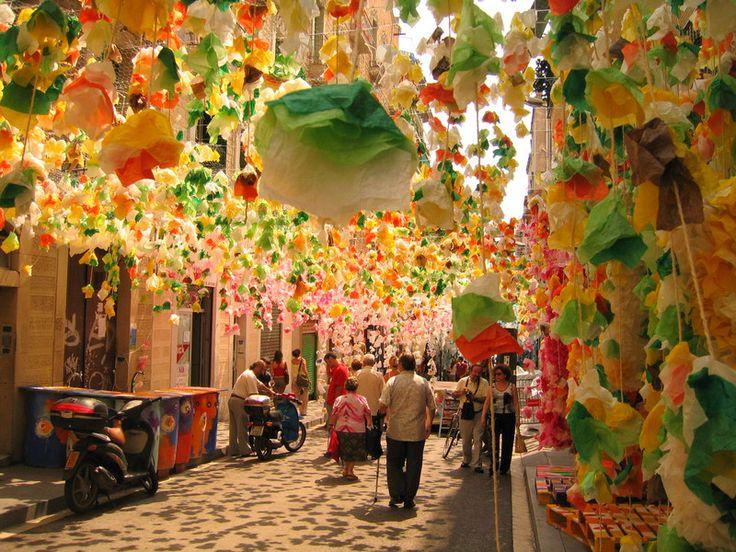 Fiestas de Gracia - Barcelona