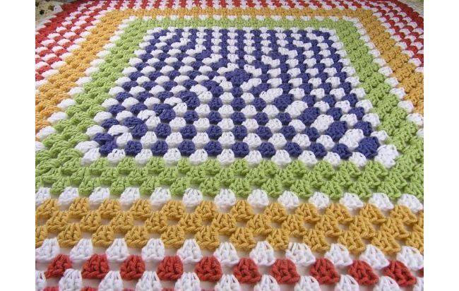 Mantas colcha tejidas en crochet ultima moda home - Colchas tejidas a crochet ...