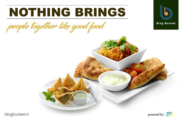 Nothing brings people together like good food. Great meals have a way of bringing everyone together in a way that is truly special. Let's Start taking Food Bites with Blog Bucket. - http://blogbucket.in/bites/ #FoodBites #GoodFood Please Like n Share our page- https://www.facebook.com/bloggingbucket/ Join Our Group - https://www.facebook.com/groups/bloggingbucket/