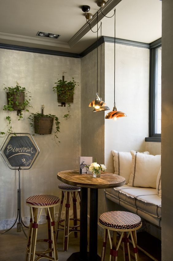 Best 25 vintage cafe design ideas on pinterest cafe for Cafe style kitchen ideas