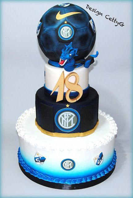 Le torte decorate di Cetty G Inter cake.