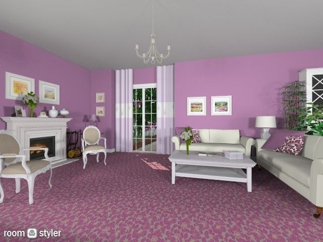 Purple Romance (Living room)