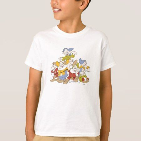 The Seven Dwarfs 4 T-Shirt - tap, personalize, buy right now!