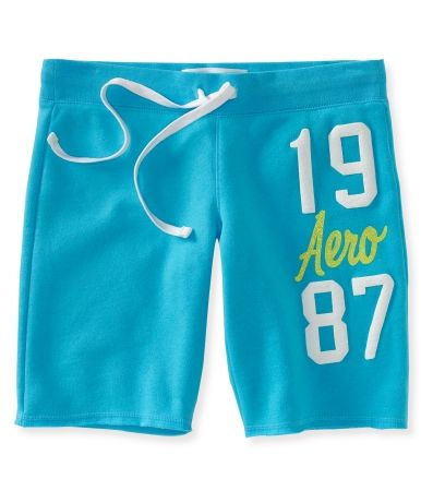 Aero 1987 Fleece Bermuda Shorts