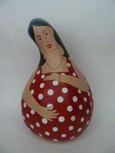 pregnant gourd