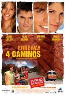 Erreway: 4 caminos - Afiche