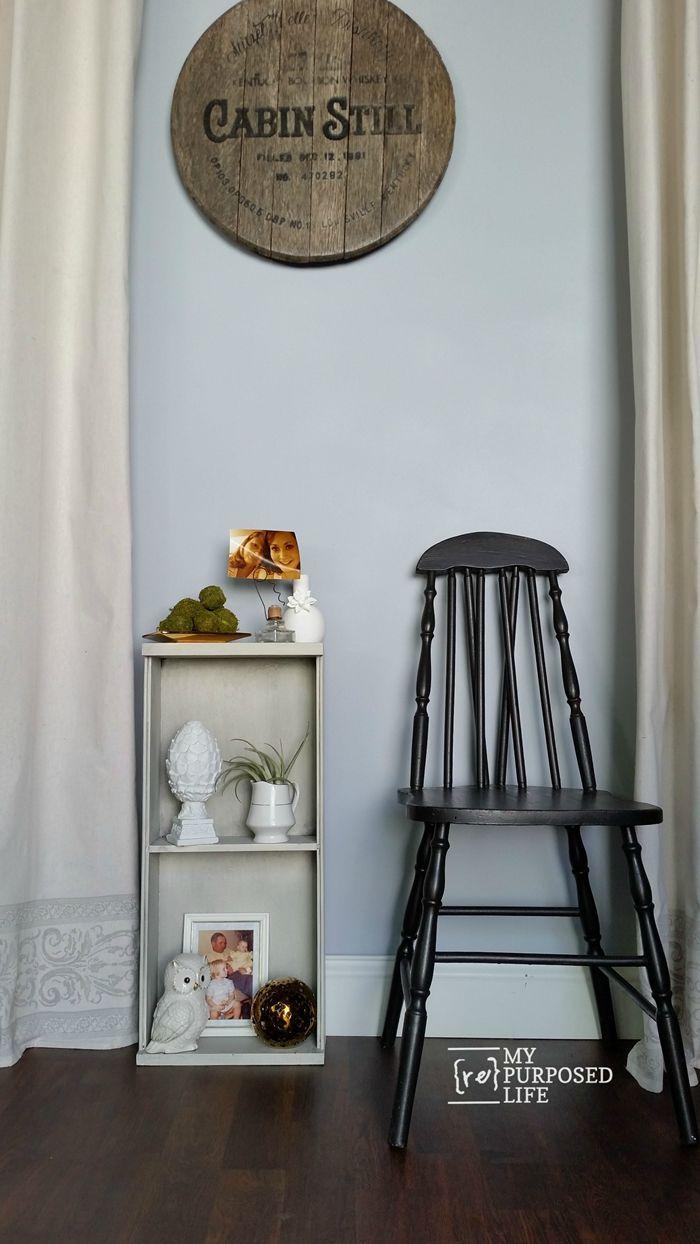 Repurposed chair ideas my repurposed life - Repurposed Kitchen Drawer Shelf