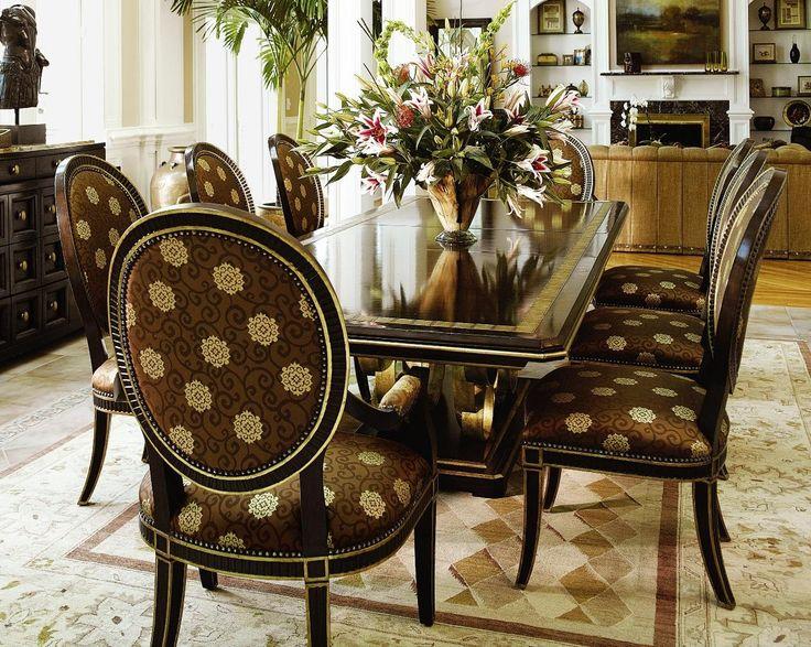 95 best Luxury Dining Room Furniture images on Pinterest | Luxury ...