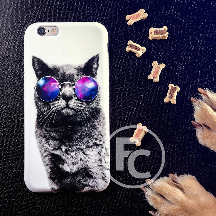 #funnycase #etui #zaprojektujetui #case #cover #design #followus #cat #glasses #fun #animals
