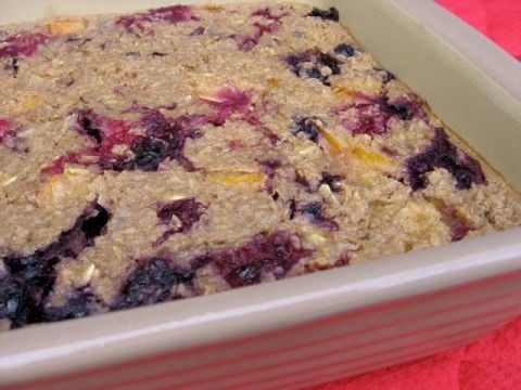Baked Oatmeal Recipes for Breakfast & Beyond with Weight Watchers Points - Simple Nourished Living