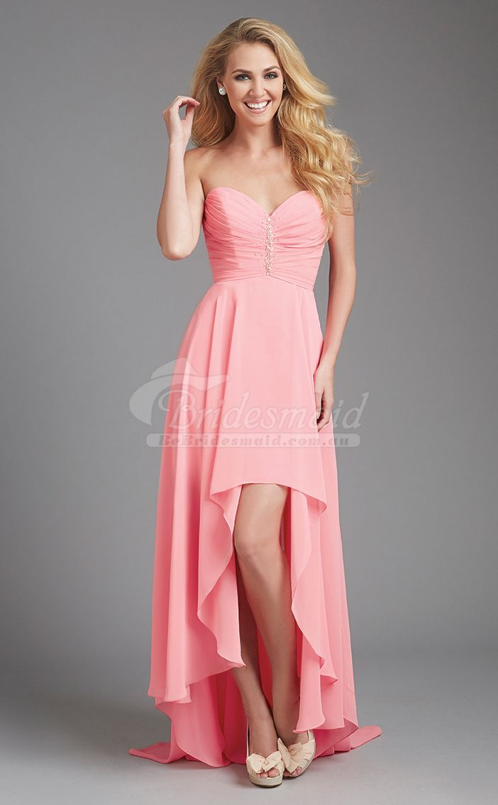 26 best Pink Bridesmaid Dresses images on Pinterest | Bridal gowns ...