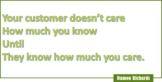 21 CUSTOMER SERVICE QUOTES - NO MATTER WHAT ONLY A CUSTOMER MATTERS!
