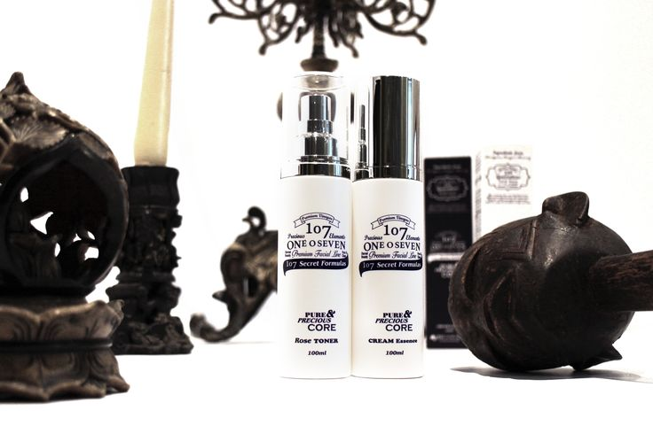 107 Oneoseven Cream Essence & Rose Toner_Pure and precious core line