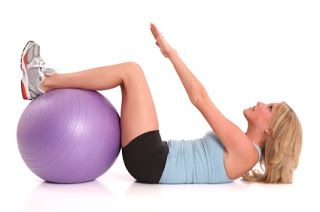 """My Health Gains : """"Get on the Ball: Core Stability"""""""