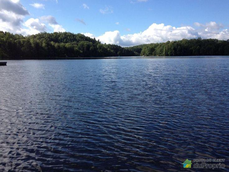 Belle propriété chaleureuse située sur le bord du lac Nick, lac écologique sans moteur à essence, au PRIX le plus COMPÉTITIF sur le marché dans le secteur, à une heure de Montréal, à 20-25 minutes des pentes de ski de la région,clé en main entièrement rénovée, dans un environnement paisible, terrain avec arbres matures, sortie 106 de l'autoroute 10, à...