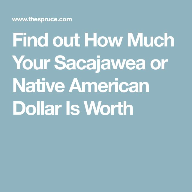 Find out How Much Your Sacajawea or Native American Dollar Is Worth
