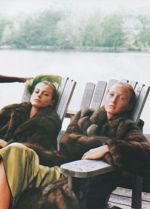 vintage fur only: Fur Coats, Lakes House, Fur Friends, Lounges Time Cocktails, Autumn Inspiration, Maggie Rizer, Website Updated, Grey Gardens, Winter Dresses