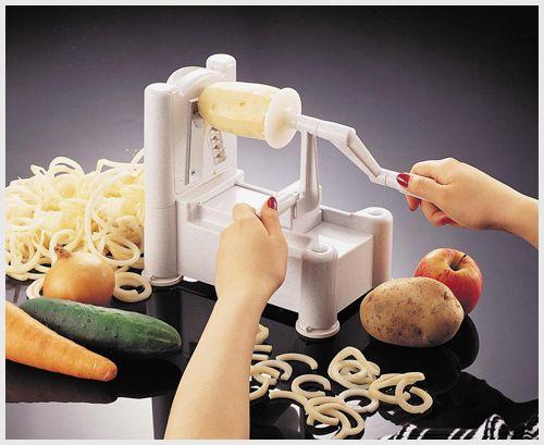 Spiral_Potato_Cutter  3 Potato Cutter Options – Make Your Spuds Into Fancy Fries!  http://www.cutsliceddiced.com/3-potato-slicer-options-make-your-spuds-into-fancy-fries