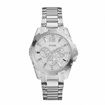 W0232L1 Γυναικείο quartz ρολόι του οίκου GUESS με ατσάλινο μπρασελέ, ημέρα & ημερομηνία. Εγγύηση 2 ετών της επίσημης αντιπροσωπείας της GUESS #Guess #ημερομηνια #ατσαλι #μπρασελε #ρολοι