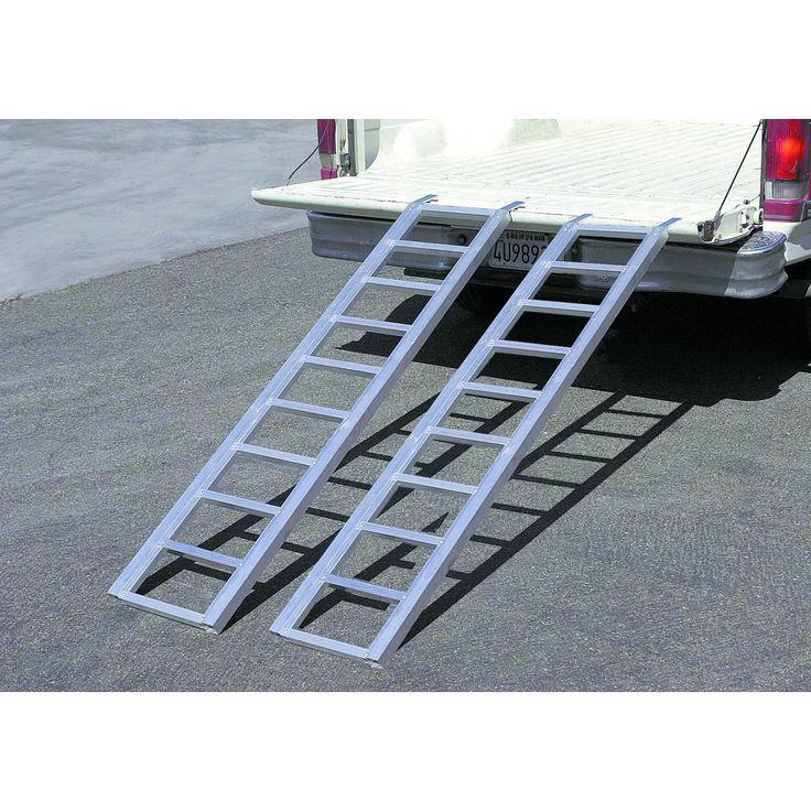 Haul-Master 90799 1000 Lb. Capacity Bi-Fold Aluminum Ramp @$80