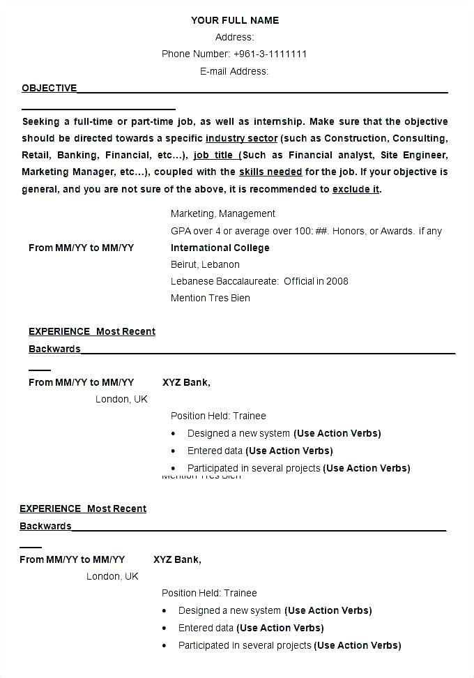 linkedin resume template resume format example official ...