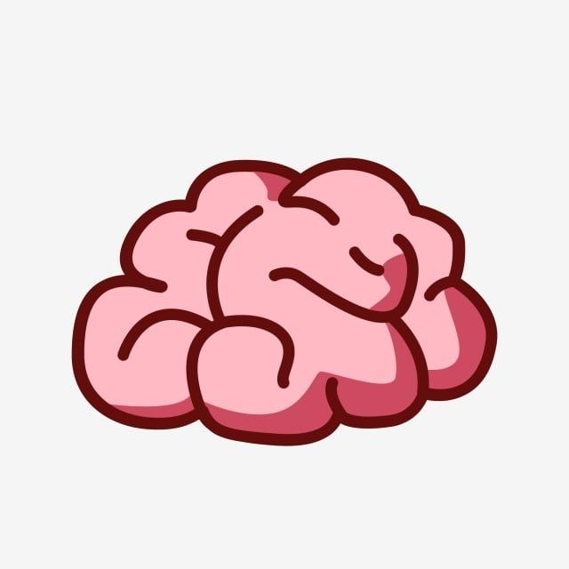 Cartoon Hand Drawn Organ Flat Wind Brain Vector Brain Personality Brain Flat Wind Png And Vector With Transparent Background For Free Download Brain Drawing How To Draw Hands Cartoon Brain