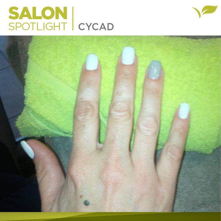 Accented French mani done by Placecol Skincare Clinic Cycad