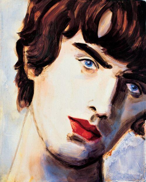 Elizabeth Peyton, Liam, 1996
