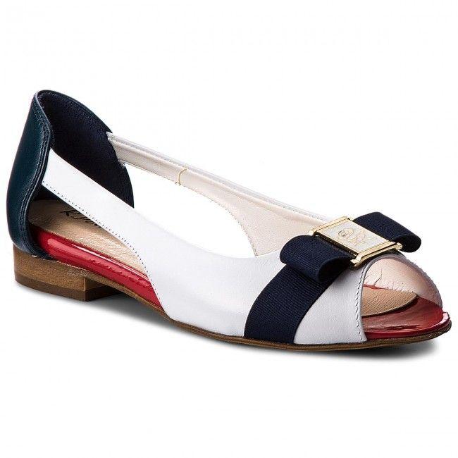 Polbuty R Polanski 0778 Marynarski Shoes Salvatore Ferragamo Flats Ferragamo