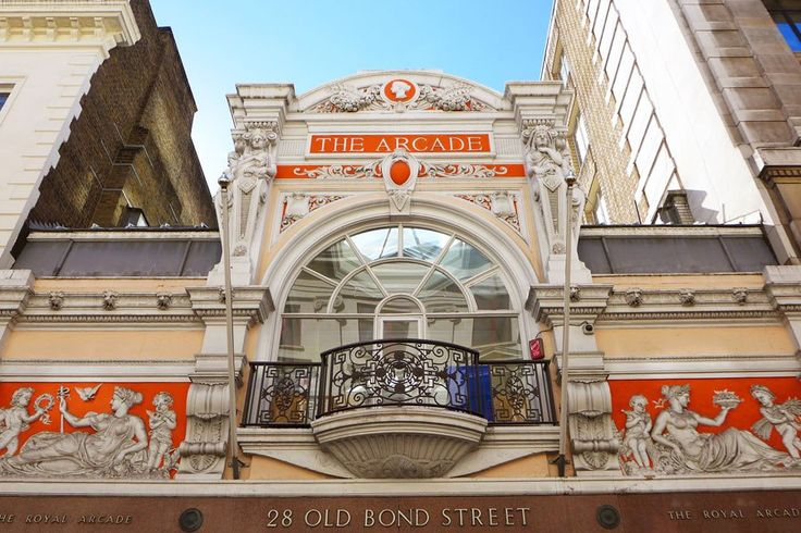 I love the red-orange color!  ~LK The Royal Arcade Explore London's Most Stunning Arcades and Markets