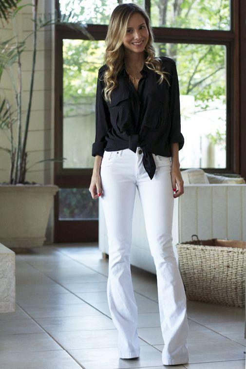 89ba6cf322 5 peças curingas que não podem faltar no guarda-roupa - camisa branca -  calça jeans - peças curingas - moda feminina - look básico - look estiloso  - armario ...
