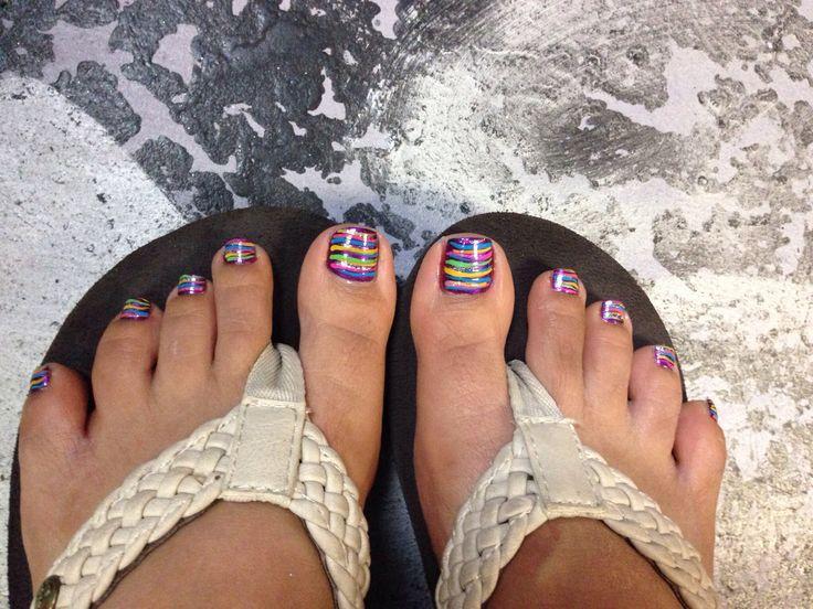 Thanksgiving Toes Nail Design Nail Arts Pinterest Toe Nail