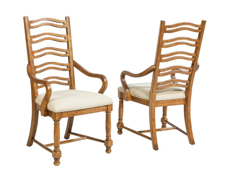 panama jack coronado set of 2 arm chairs classic design features soft padded cushion seat tall lattice back sturdy legs cushionhome