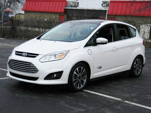 Used 2017 Ford C Max Energi Titanium In Carol Stream Il Carol Stream Carole Cars For Sale