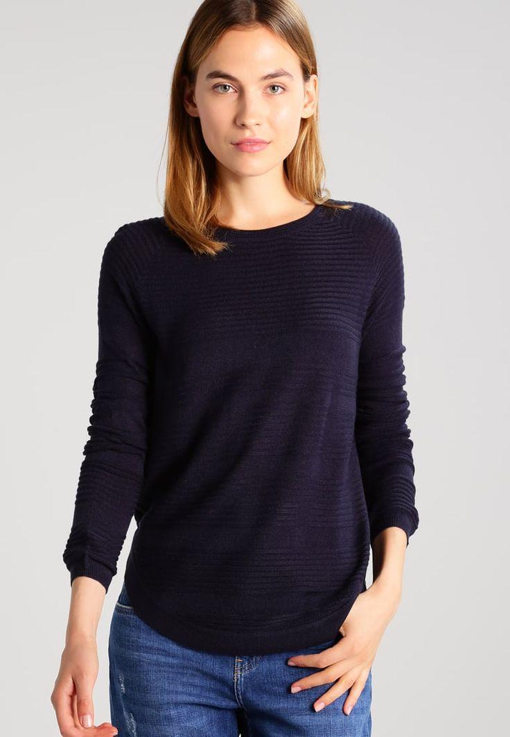 Vêtements ONLY ONLCAVIAR  - Pullover - night sky bleu foncé: 19,95 € chez Zalando (au 04/12/17). Livraison et retours gratuits et service client gratuit au 0800 915 207.