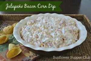 Jalapeño Bacon Corn Dip