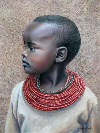 Judy Scotch   Australian Artist   African Tribes ...