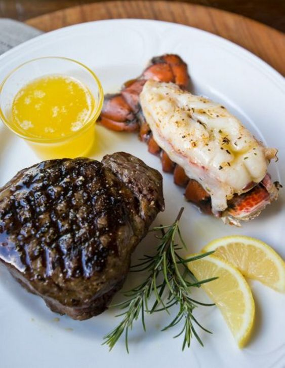 Surf and Turf typically pairs a juicy steak with succulent lobster tail. It's a classic of modern American culinary convention.