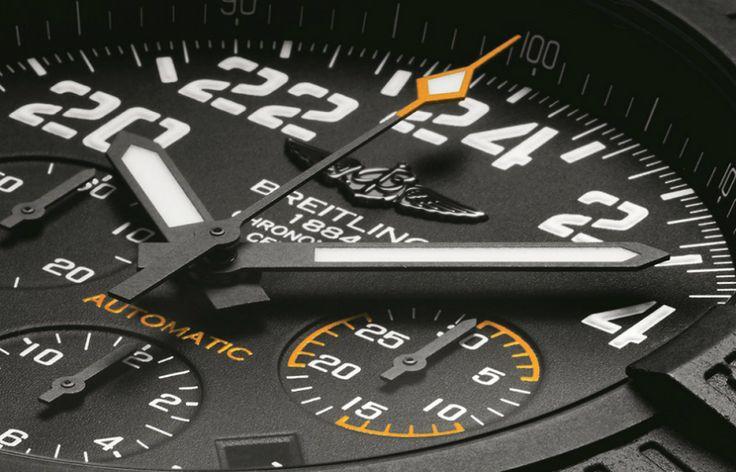 Breitling Avenger Hurricane Watch Featuring New Lightweight 'Breitlight' Polymer Watch Releases