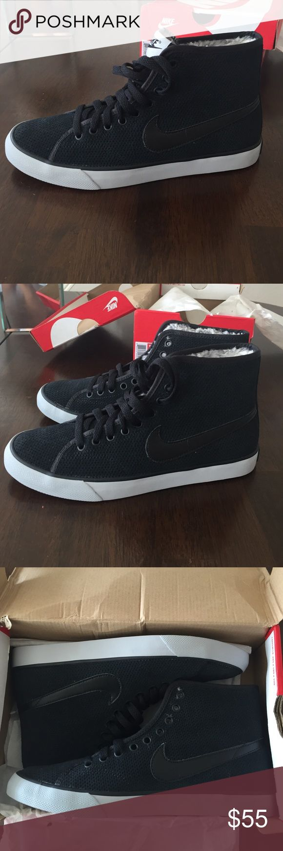 Brand new! Women's Nike Primo court mid suede Brand new with box, never worn Nike Shoes Athletic Shoes