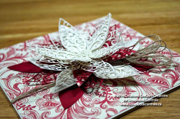 Scrapbook Centrale: Jour 10 * Douze jours de Noël / Day 10 * Twelve Days of Christmas #MemoryBox